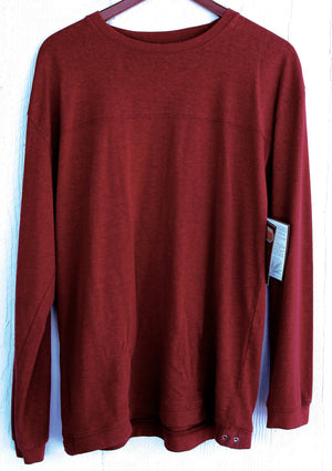 Dash Hemp Horizon Pullover Tee (Long Sleeve)