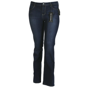 LiverPool Logan Bootcut Hugger 4 way Stretch Denim in Medium Dark Orion