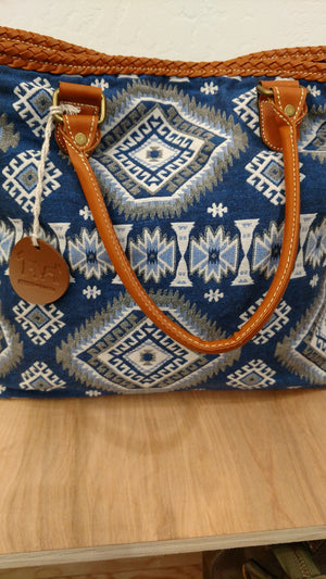 Aztec Denim Bag