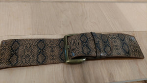 Cinch Snake Print Animal Print Belts For Her