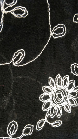 Crewel Embroidery Scarves by Fredd & Basha