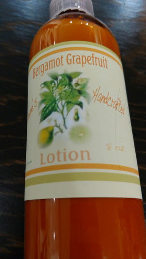 Renee's Handcrafted Lotion - Bergamont Grapefruit