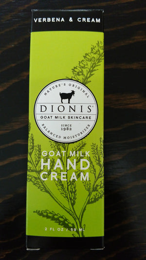 Goat Milk Hand Cream by Dionis
