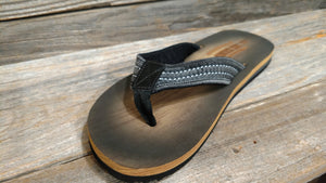 RS Surf Grey Burnished Sandal For Men