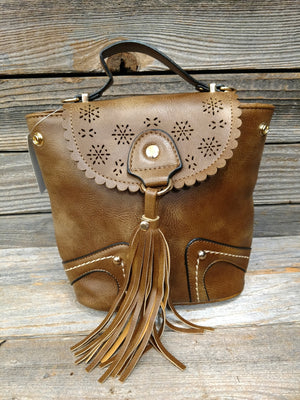 Small Back Pack With Tassel
