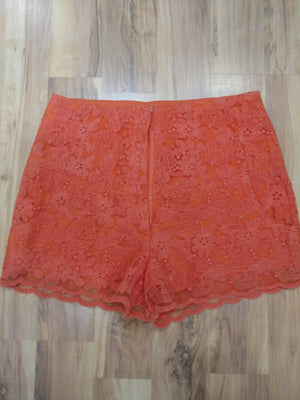 Lace Shorts With Pockets