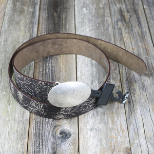 Leather Gypsy Romano Petal Belt