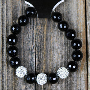 Beaded Bracelet with Pave