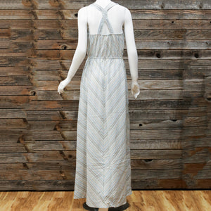 Braid Back Detail Maxi Dress by Mystree
