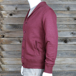 Button-Down Jacket With Ribbed Collar
