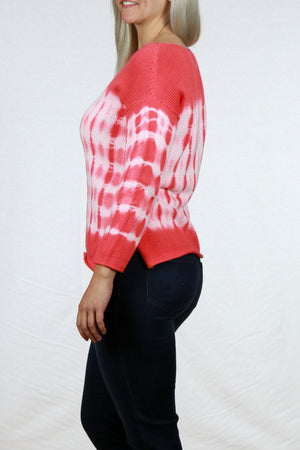 Mindy Pullover Tie Dye Sweater by Pure Handknit