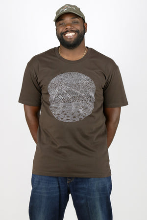 "Redwood Tees ""Rock Bike"" Men's Ringspun Cotton Short Sleeve Tee"