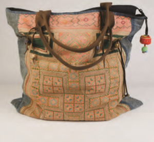 Jessie Hand Embroidered Large Totes