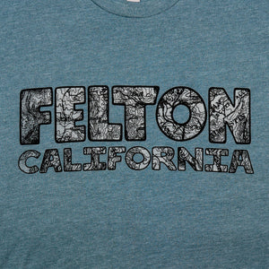 "Redwood Tees ""Felton USGS"" Men's / Short Sleeve Tee"