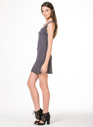 Chiffon Trim Cami Dress By Monoreno