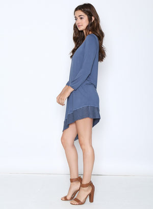 Asymmetrical Knit Dress
