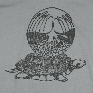 "Redwood Tees ""Earth Turtle"" Men's 100% Ringspun Cotton Short Sleeve Tee"