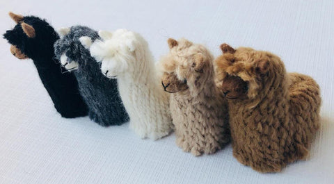 Suri Alpacadorable Alpaca Figurines