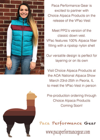 Paca Performance Gear V-Pac quilted vest ad