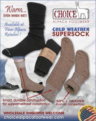 OutdoorAdventure Alpaca Socks