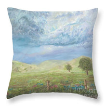 A Glimpse - Throw Pillow