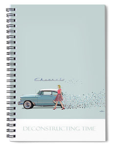 Deconstructing Time - Spiral Notebook