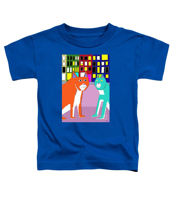 City Cats - Toddler T-Shirt