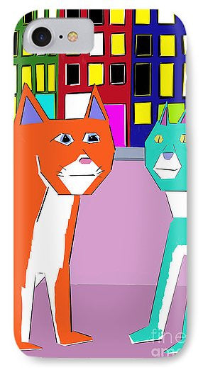 City Cats - Phone Case