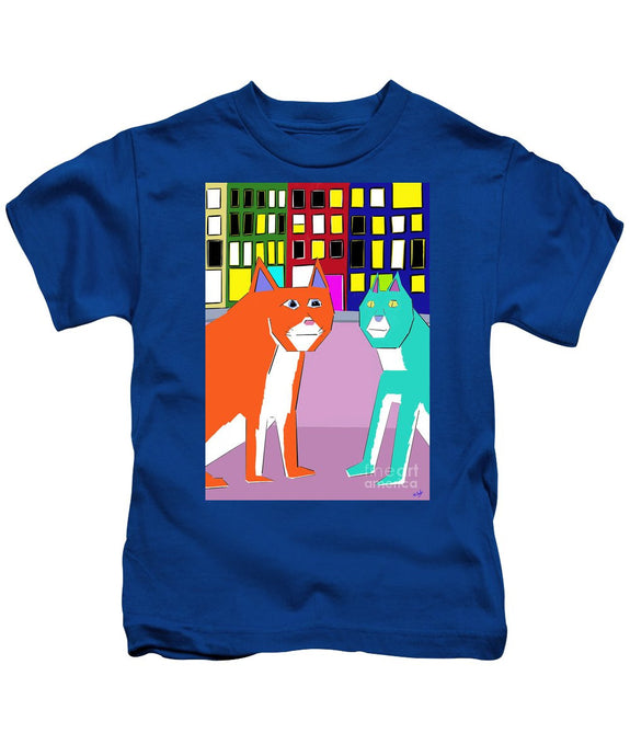 City Cats - Kids T-Shirt