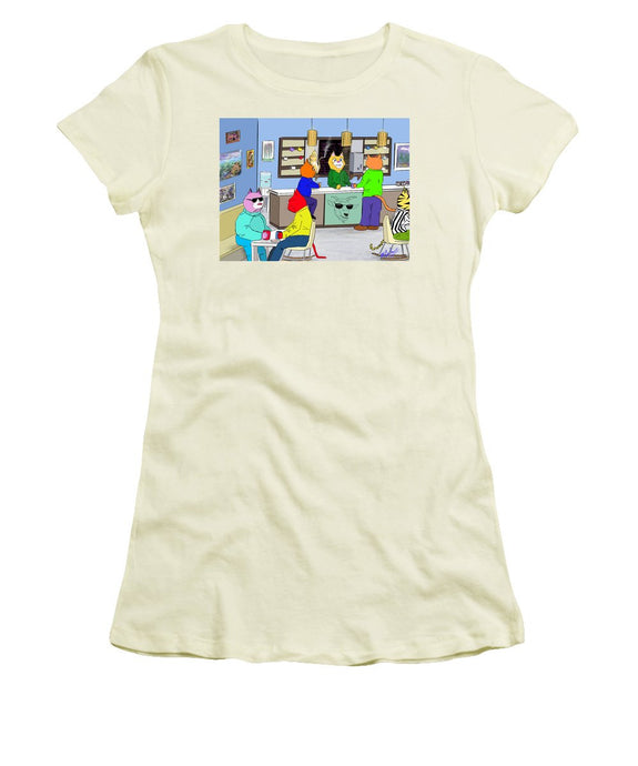 Coffee Cats - Women's T-Shirt (Junior Cut)