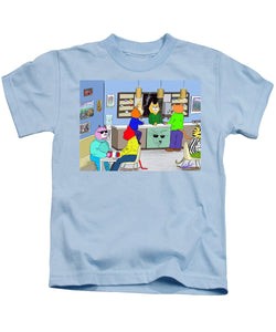 Coffee Cats - Kids T-Shirt