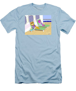Cruise Cats - Men's T-Shirt (Slim Fit)
