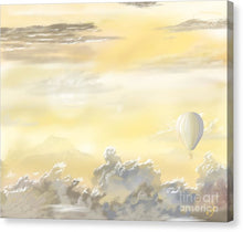 End Of The Day - Canvas Print