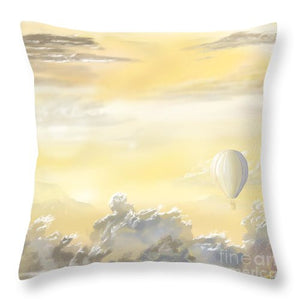 End Of The Day - Throw Pillow