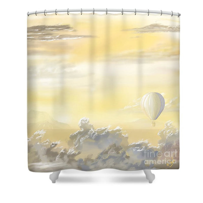 End Of The Day - Shower Curtain