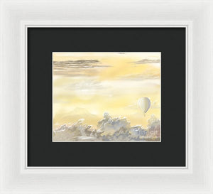 End Of The Day - Framed Print