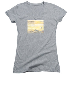 End Of The Day - Women's V-Neck T-Shirt (Junior Cut)