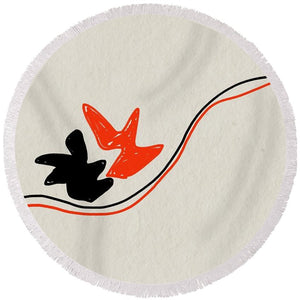Flutter - Round Beach Towel