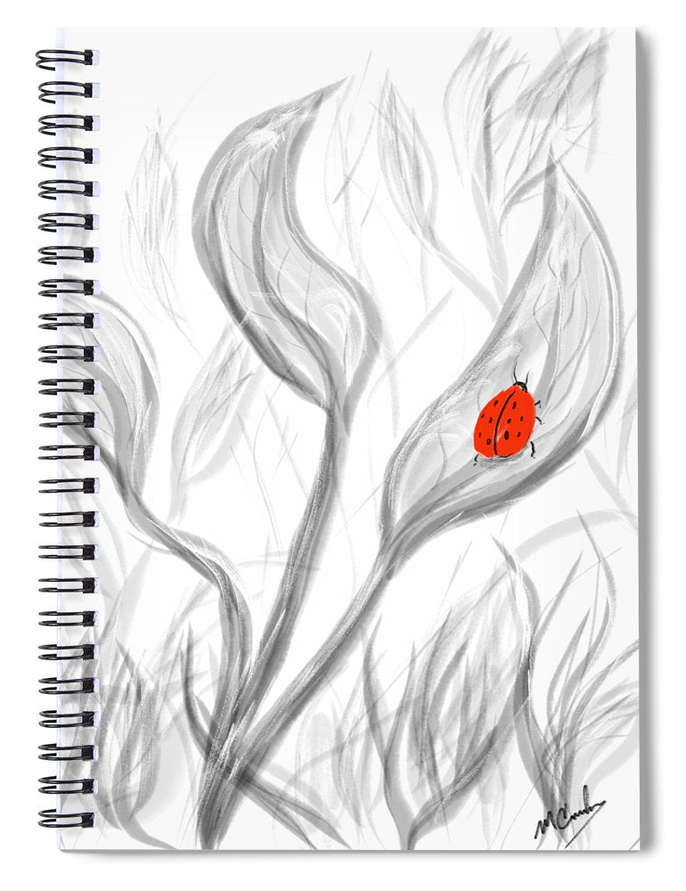For Love - Spiral Notebook