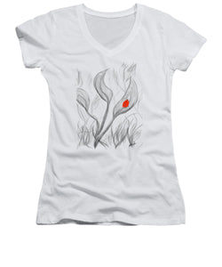 For Love - Women's V-Neck T-Shirt