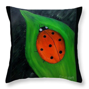 Hey Lady - Throw Pillow