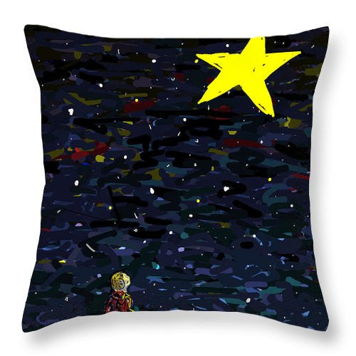 Hope For The Human Spirit - Throw Pillow