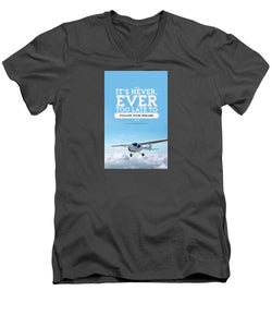 It's Never Too Late - Men's V-Neck T-Shirt