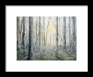 Mourning Light - Framed Print