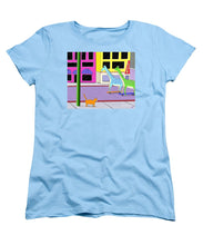 There Were Two Giraffes - Women's T-Shirt (Standard Cut)