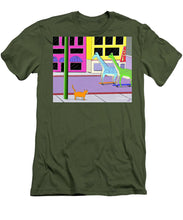 There Were Two Giraffes - Men's T-Shirt (Slim Fit)