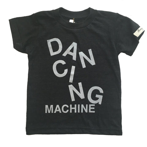 Dancing Machine Short Sleeve Tee (Silver/Black)