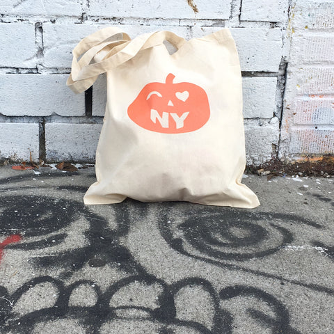 I love New York Halloween tote
