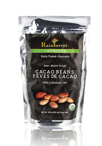 Cacao Beans - 250 grams - Organic Rainforest Company