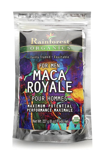 Organic Maca Powder - Royale For Men - Gelatinized - 227 g - Organic Rainforest Company